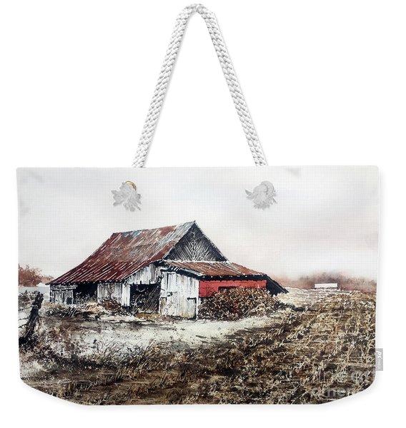 Mud Season Weekender Tote Bag
