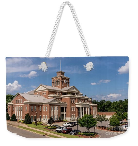 Municipal Building - North Augusta Sc Weekender Tote Bag