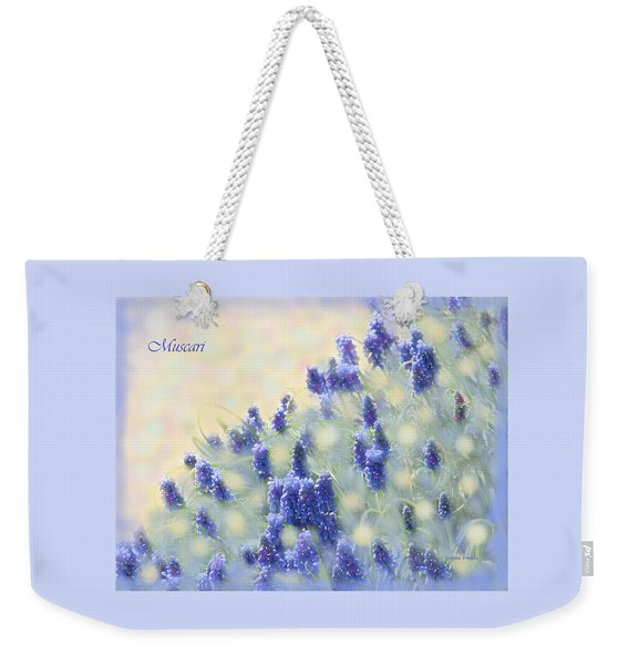 Muscari Morning Weekender Tote Bag