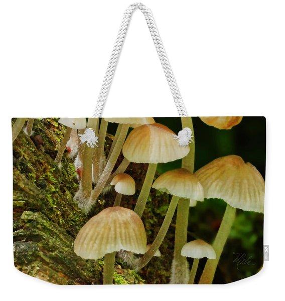 Mushrooms Weekender Tote Bag