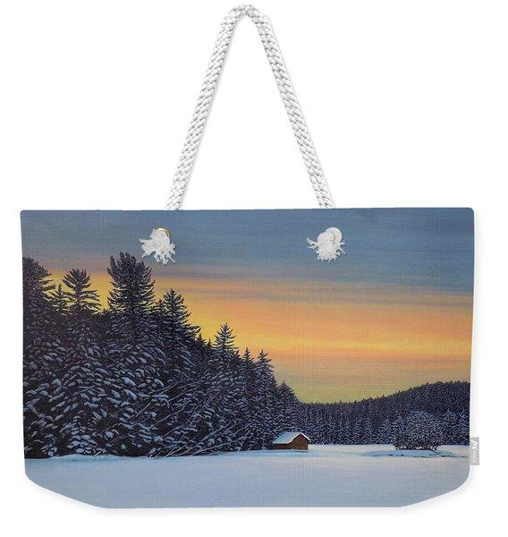 Muskoka Winter Weekender Tote Bag