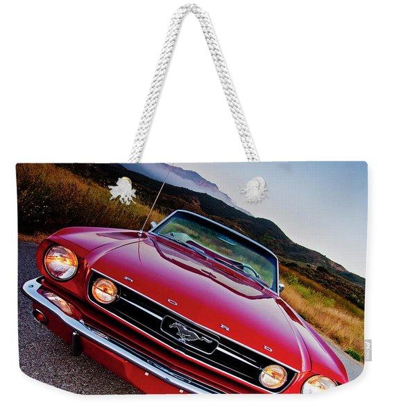Mustang Convertible Weekender Tote Bag
