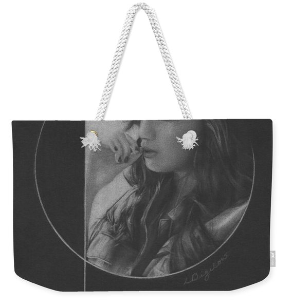 Muted Shadow No. 5 Weekender Tote Bag