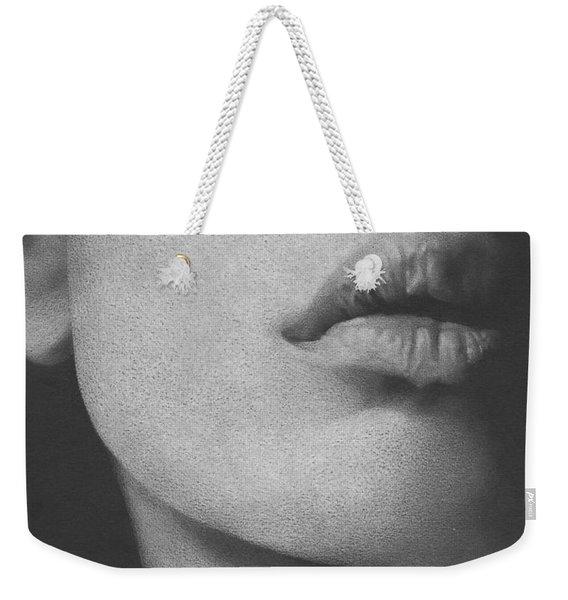 Muted Shadow No. 8 Weekender Tote Bag