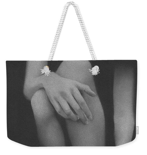Muted Shadow No. 4 Weekender Tote Bag