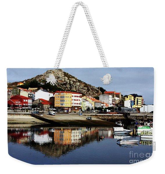 Muxia Camino Reflections Weekender Tote Bag