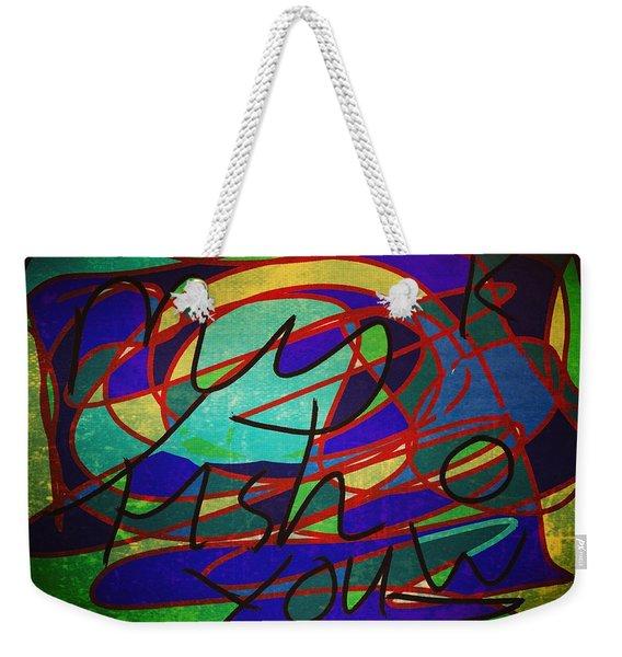 My Fish Knowz You Weekender Tote Bag