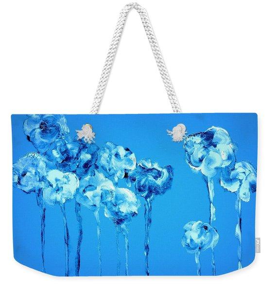 My Garden - Blue Weekender Tote Bag