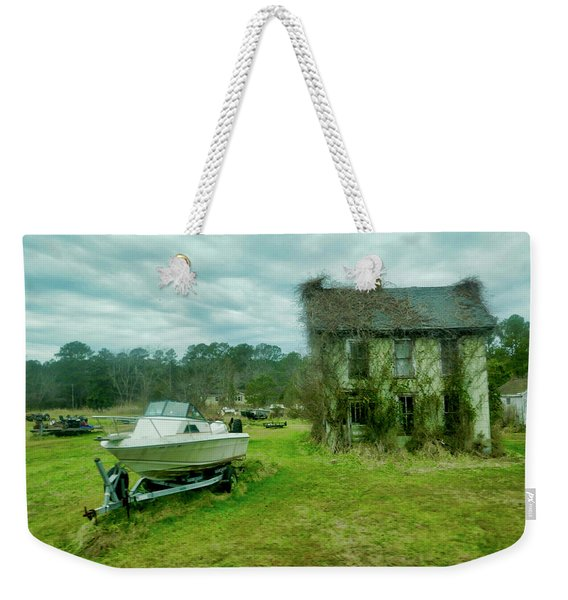 Auntie's Old House Weekender Tote Bag