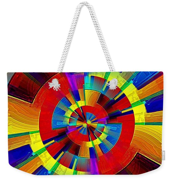 My Radar In Color Weekender Tote Bag