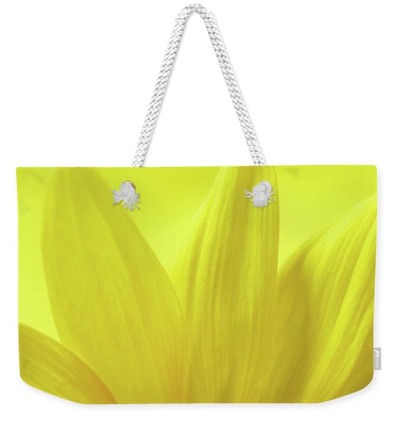 Weekender Tote Bag featuring the photograph My Sunshine by Michelle Wermuth