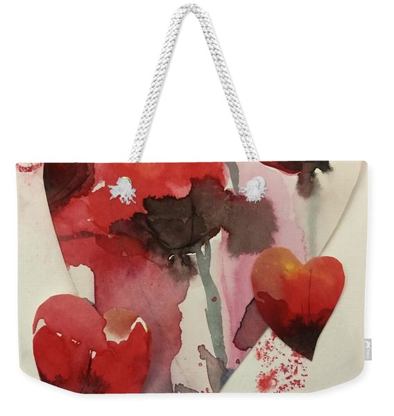 My Valentine Four Weekender Tote Bag
