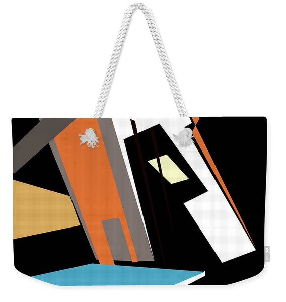 My World In Abstraction Weekender Tote Bag
