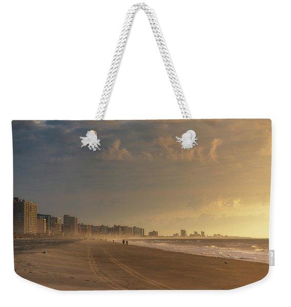 Myrtle Sunrise Weekender Tote Bag