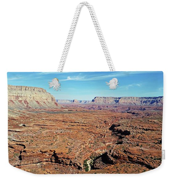 Mysterious Havasupai Canyon Weekender Tote Bag