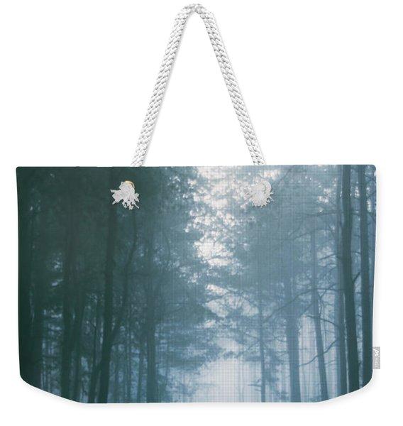 Mystery In The Mist Weekender Tote Bag