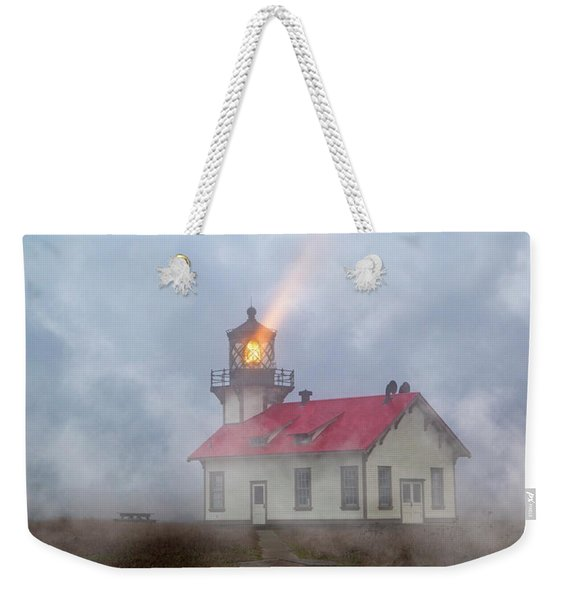 Mystical Point Cabrillo Lighthouse California Weekender Tote Bag