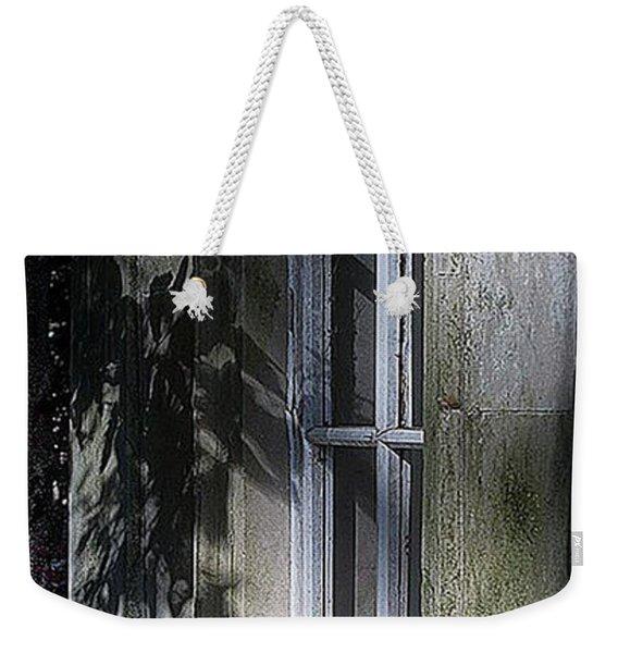 Mysterious Window Weekender Tote Bag