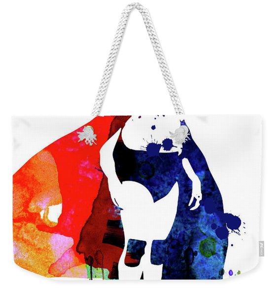 Nacho Watercolor Weekender Tote Bag