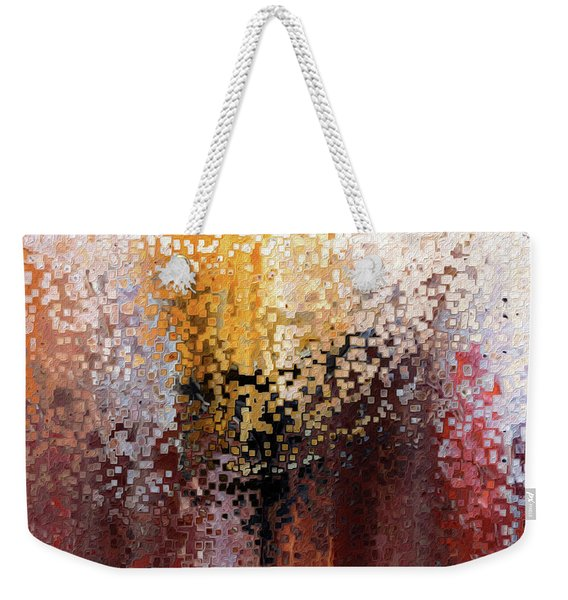 Nahum 1 7. A Stronghold Weekender Tote Bag