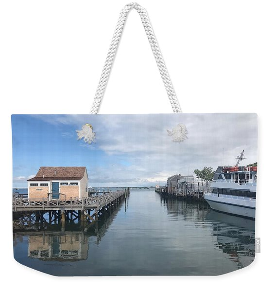 Nantucket Waterway Weekender Tote Bag