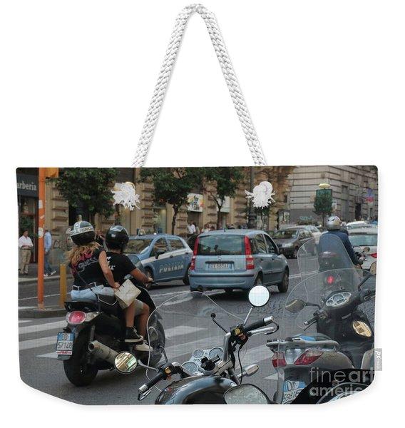 Naples Street Buzz Weekender Tote Bag