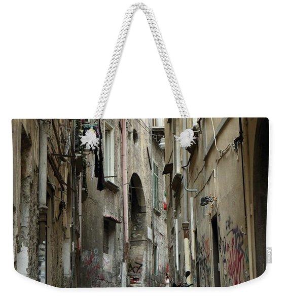 Naples Street Weekender Tote Bag