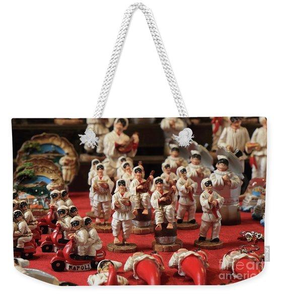 Napoli Weekender Tote Bag