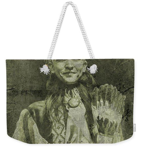 Native American Dancer Weekender Tote Bag