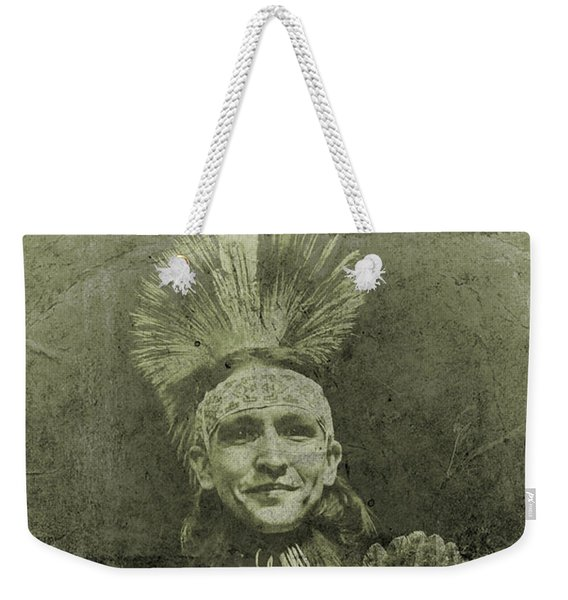 Native American Dancer Weekender Tote Bag