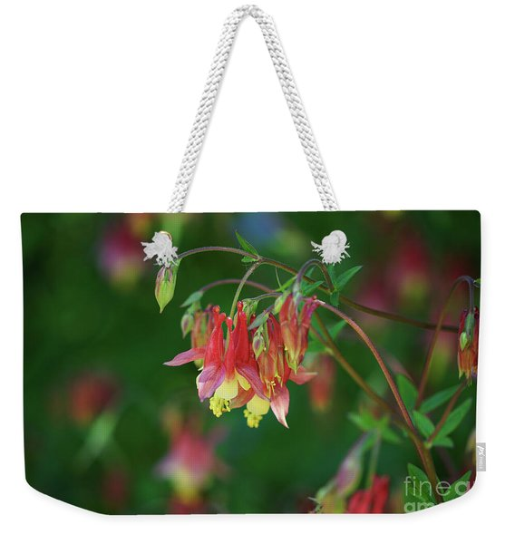 Native Columbine Weekender Tote Bag