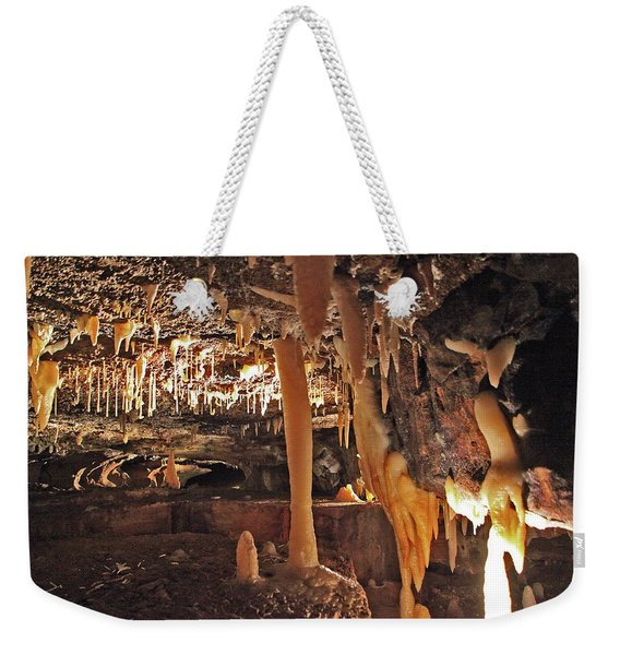 Natural Tunnel Weekender Tote Bag