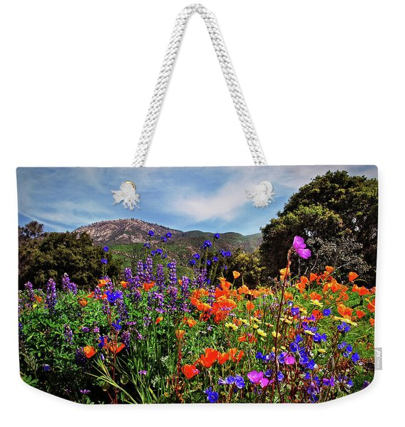 Nature's Bouquet  Weekender Tote Bag