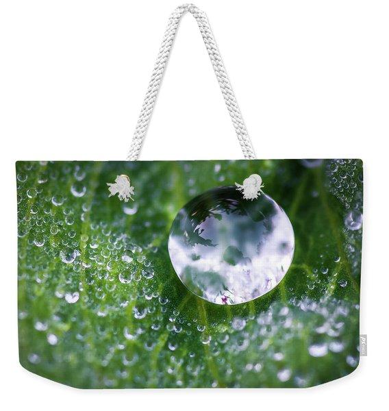 Natures Crystal Ball Weekender Tote Bag