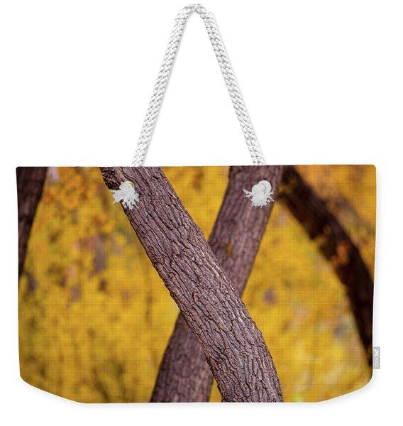 Nature's Font Weekender Tote Bag