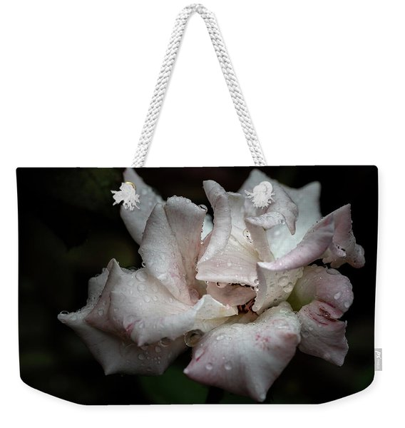 Weekender Tote Bag featuring the photograph Natures Tears by Robin Zygelman