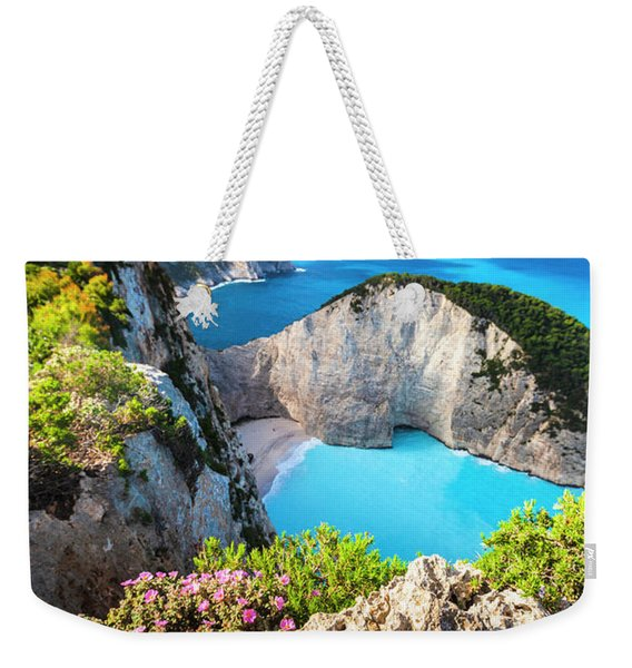 Navagio Bay Weekender Tote Bag