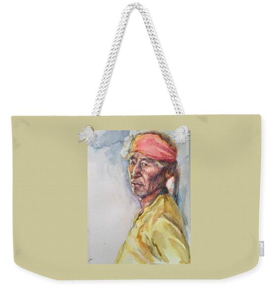 Navaho Man Weekender Tote Bag