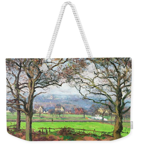 Near Sydenham Hill - Digital Remastered Edition Weekender Tote Bag