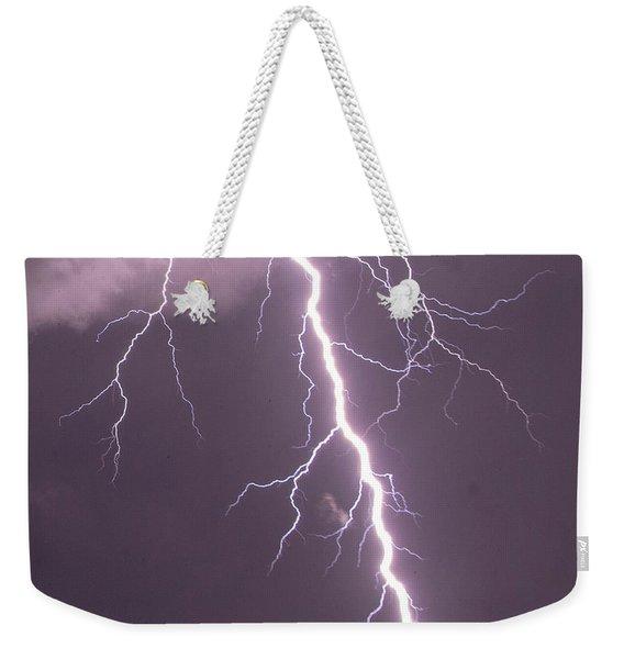 Nebraska Arcus And Lightning 046 Weekender Tote Bag