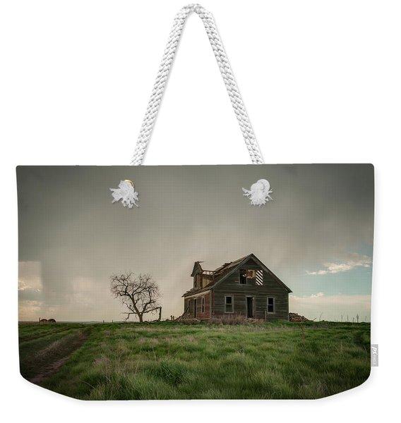 Nebraska Farm House Weekender Tote Bag