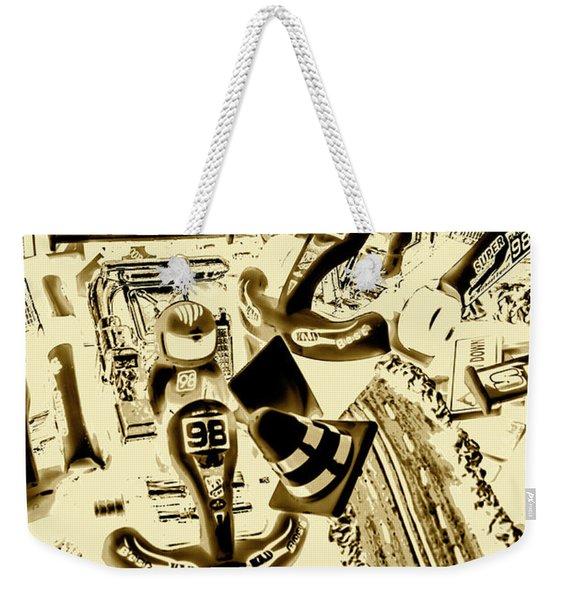 Need For Sepia Weekender Tote Bag