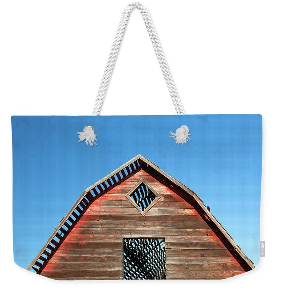 Needs A New Roof Weekender Tote Bag