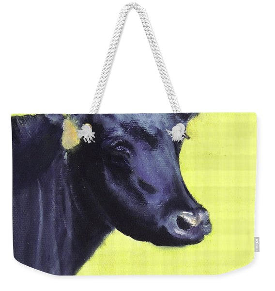 Nelson's Cow Weekender Tote Bag