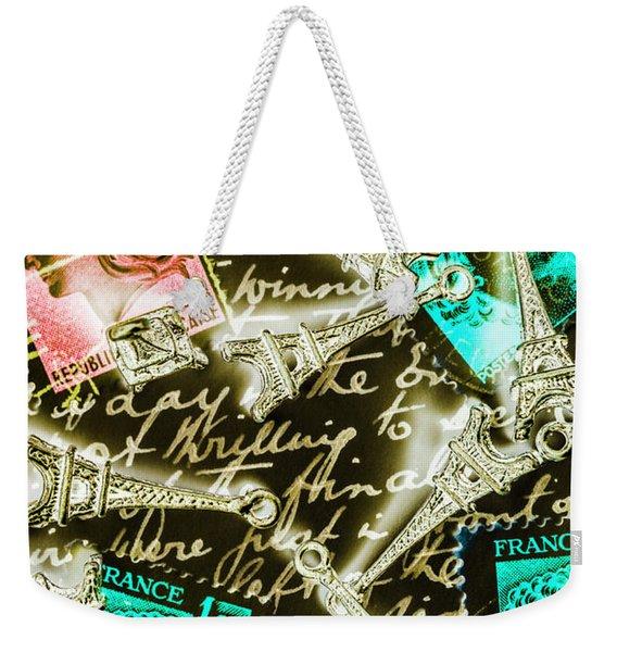 Neo Romantics Weekender Tote Bag