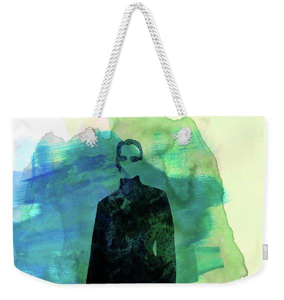 Neo Watercolor Weekender Tote Bag