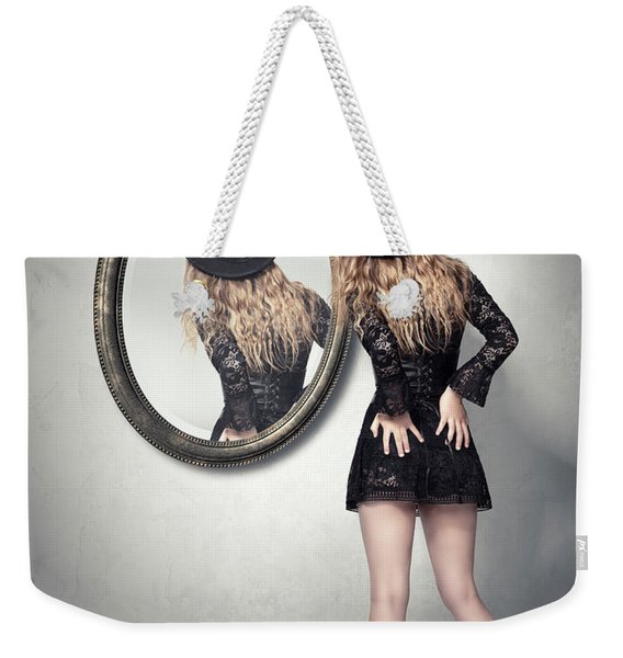 Never Look Back Weekender Tote Bag