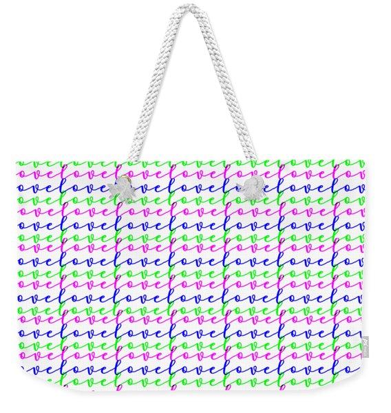 Neverending Love Weekender Tote Bag