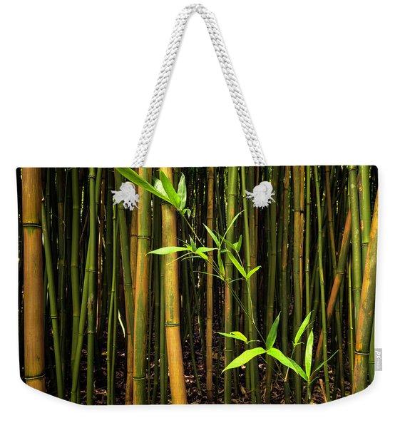 New Bamboo Shoot Weekender Tote Bag