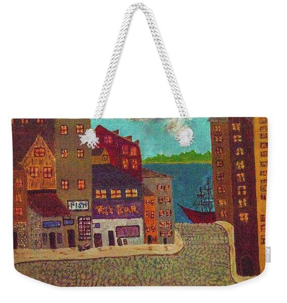 New Bedford Weekender Tote Bag